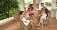 Receptionists at Hotel Desire Costa Rica