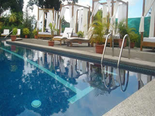 Hotel Desire Costa Rica Upper Nude Swimming Pool East Side
