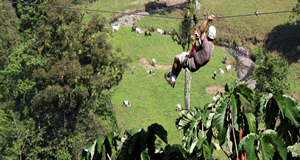 Costa Rica EcoTourism by Canopy Tour Zipline